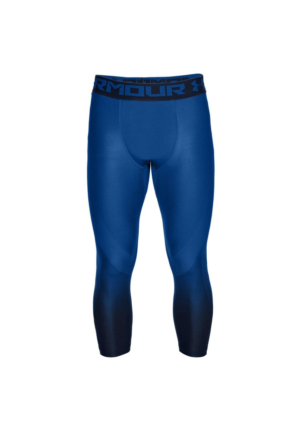 Under Armour Heatgear Armour 2.0 3/4 Legging - Fitnesshosen für Herren - Blau