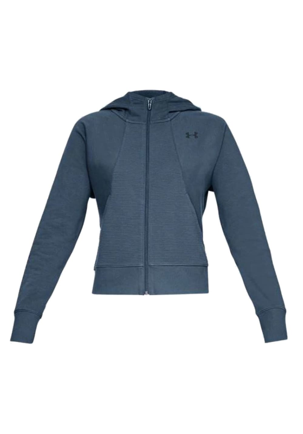 Under Armour Tb Ottoman Fleece Full Zip Grapic Warm - Laufjacken für Damen - Grau
