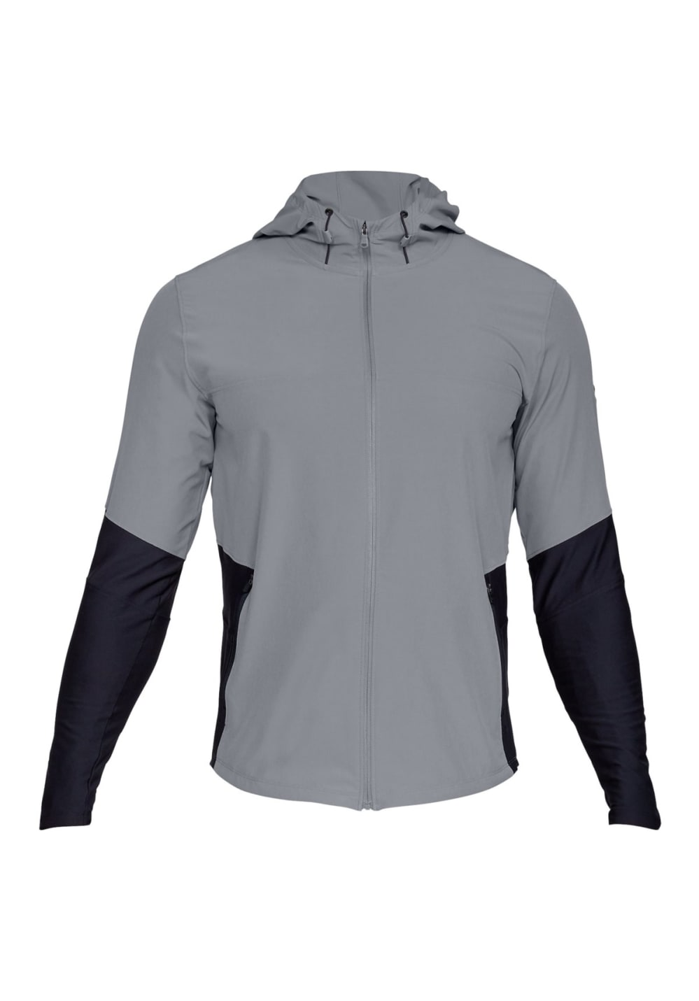 Under Armour Threadborne Vanish Jacket - Laufjacken für Herren - Grau, Gr. L