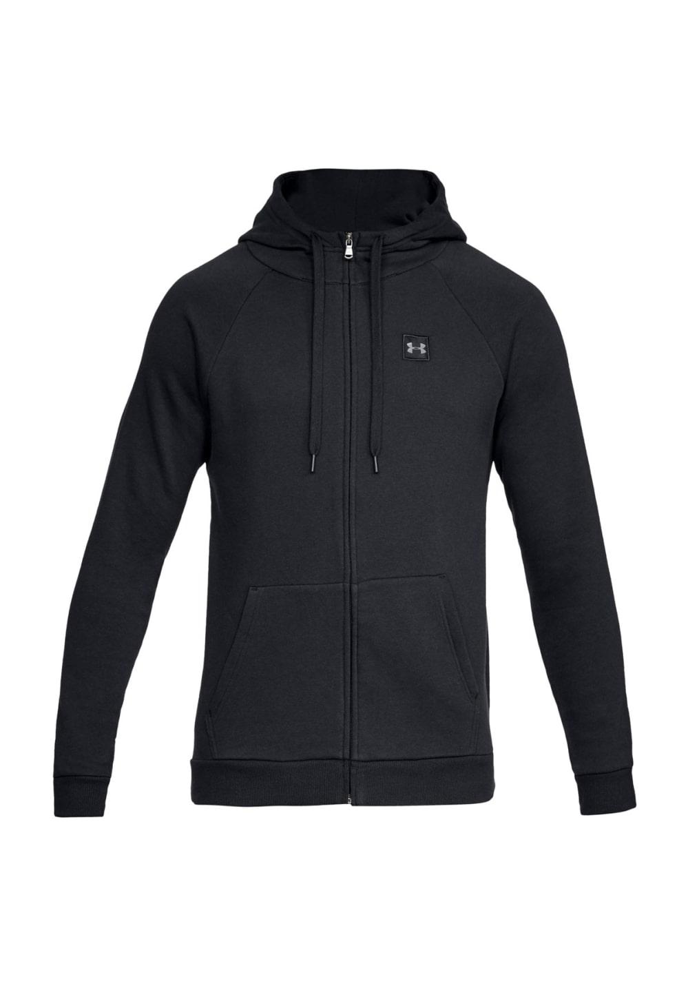 Under Armour Rival Fleece Full Zip Hoodie - Sweatshirts & Hoodies für Herren - Schwarz