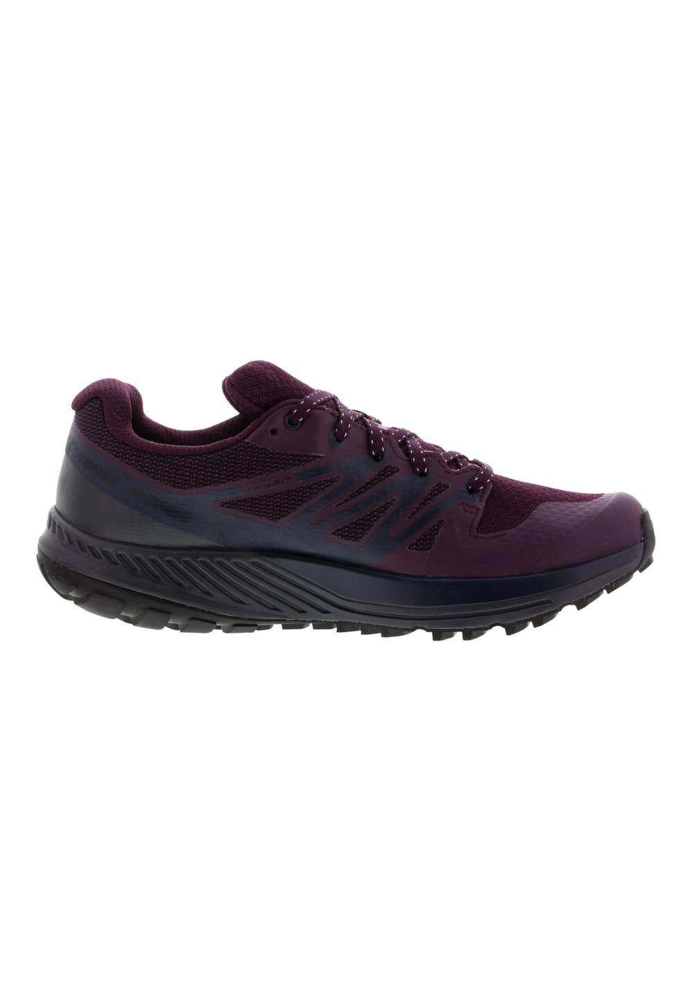 Rouge Chaussures 21run Gtx Escape Sense Femme Pour Running Salomon 4Ut0n