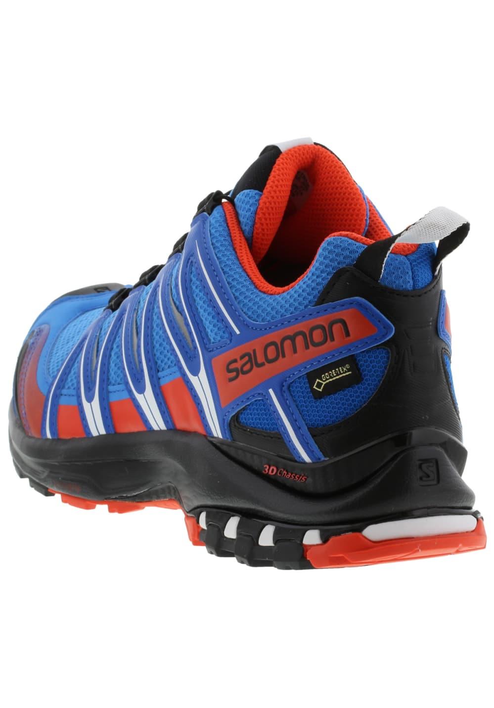 Xa Pro Pour Bleu Salomon Running 3d Homme Gtx Chaussures VUpqSzM