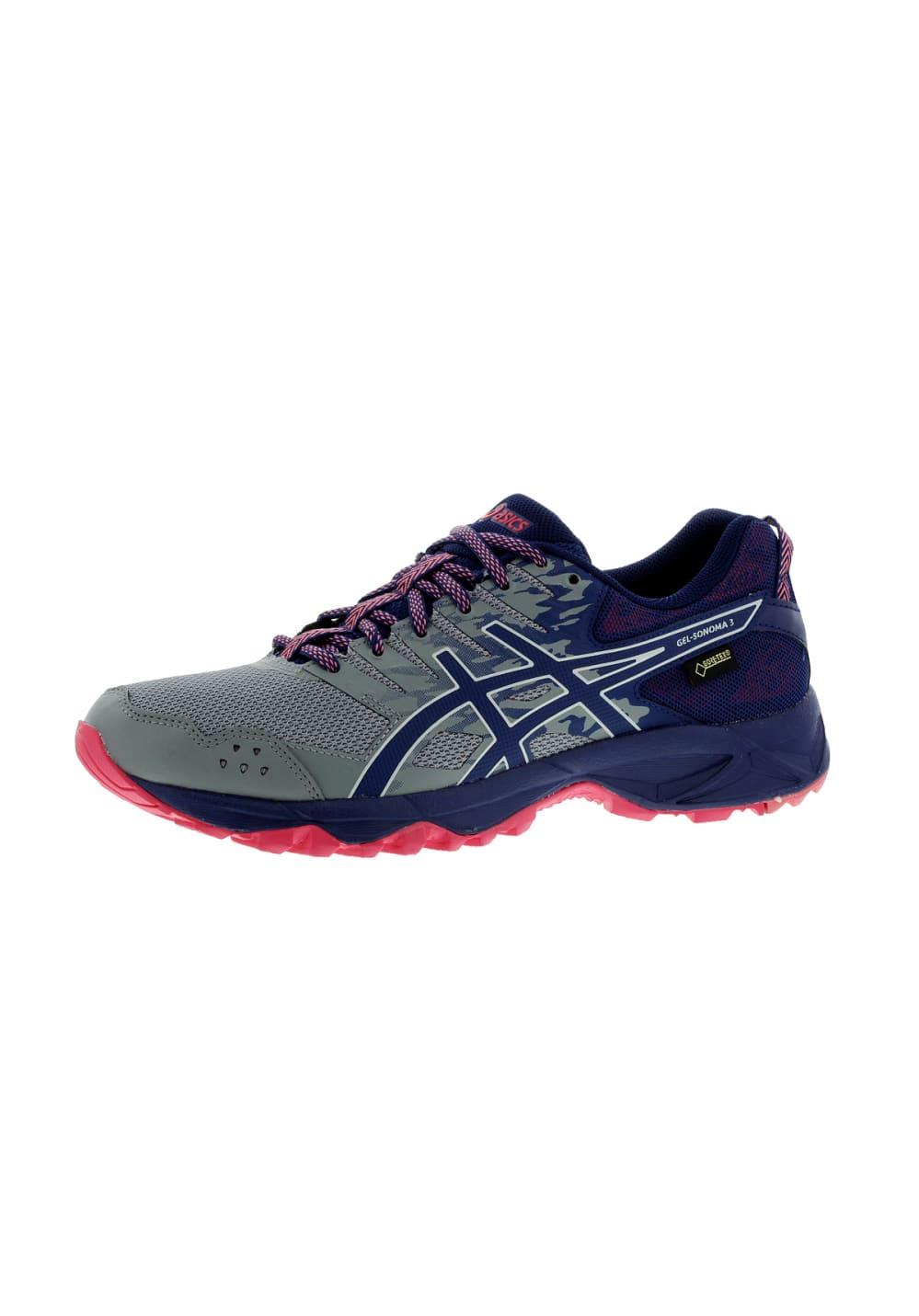 Pour Gel 3 Sonoma Femme Asics Gris G Tx Chaussures Running PukXZi