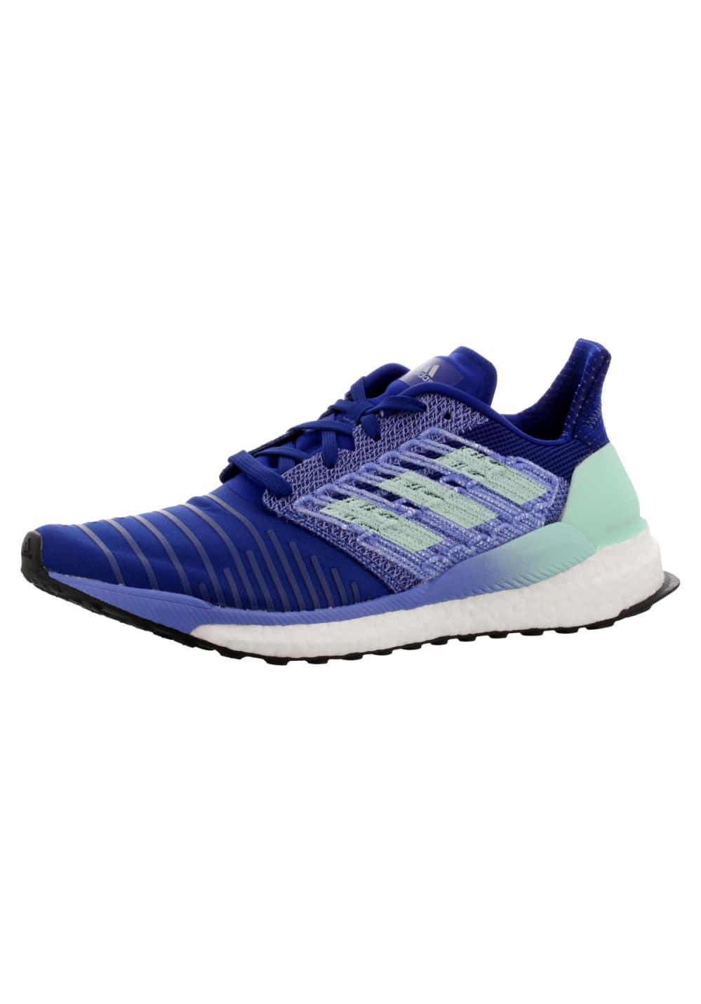 adidas Solar Boost - Laufschuhe für Damen - Blau, Gr. 39 1/3