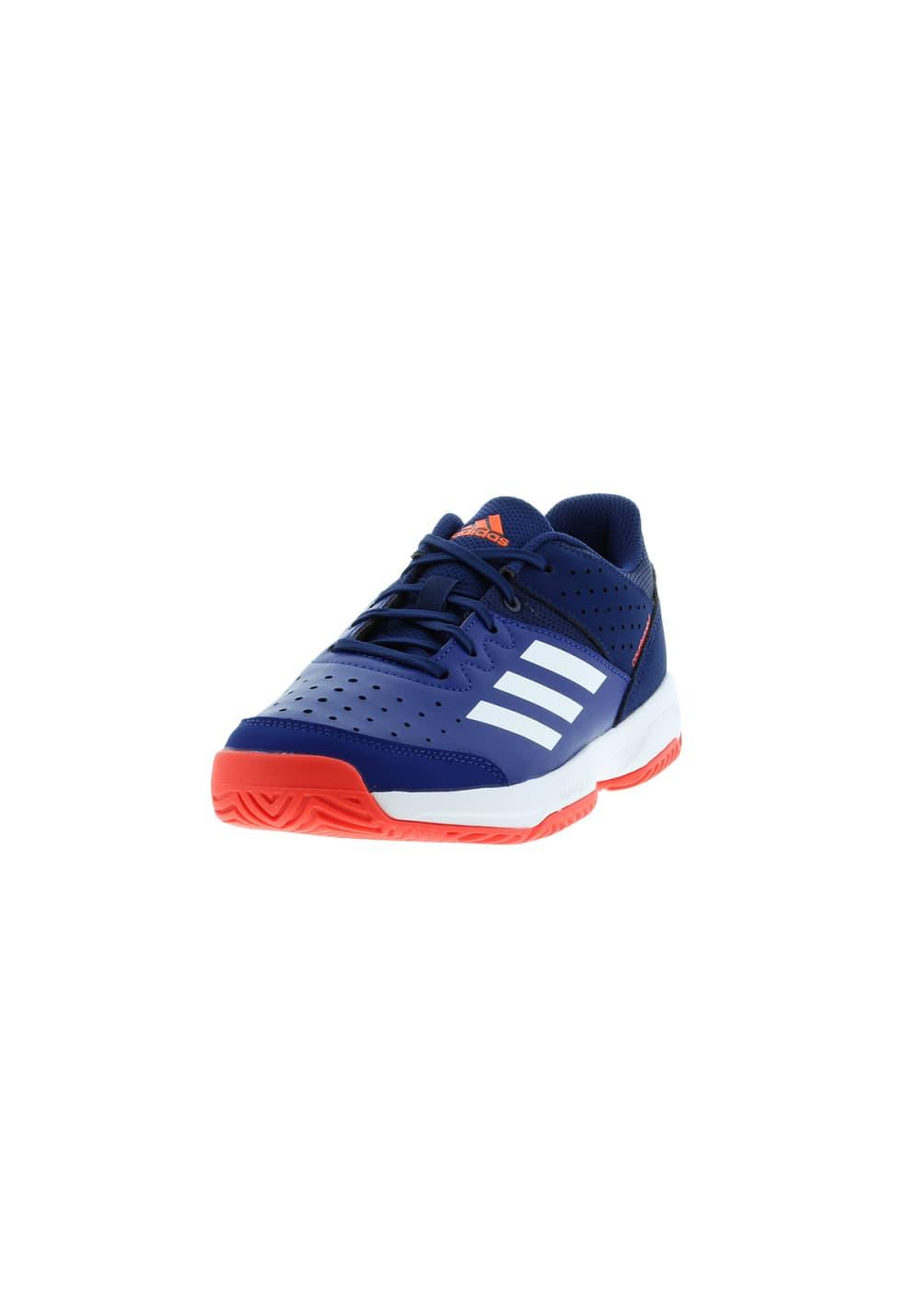 Stabil Handball Jr Court Bleu Chaussures Adidas 3TK1JclF