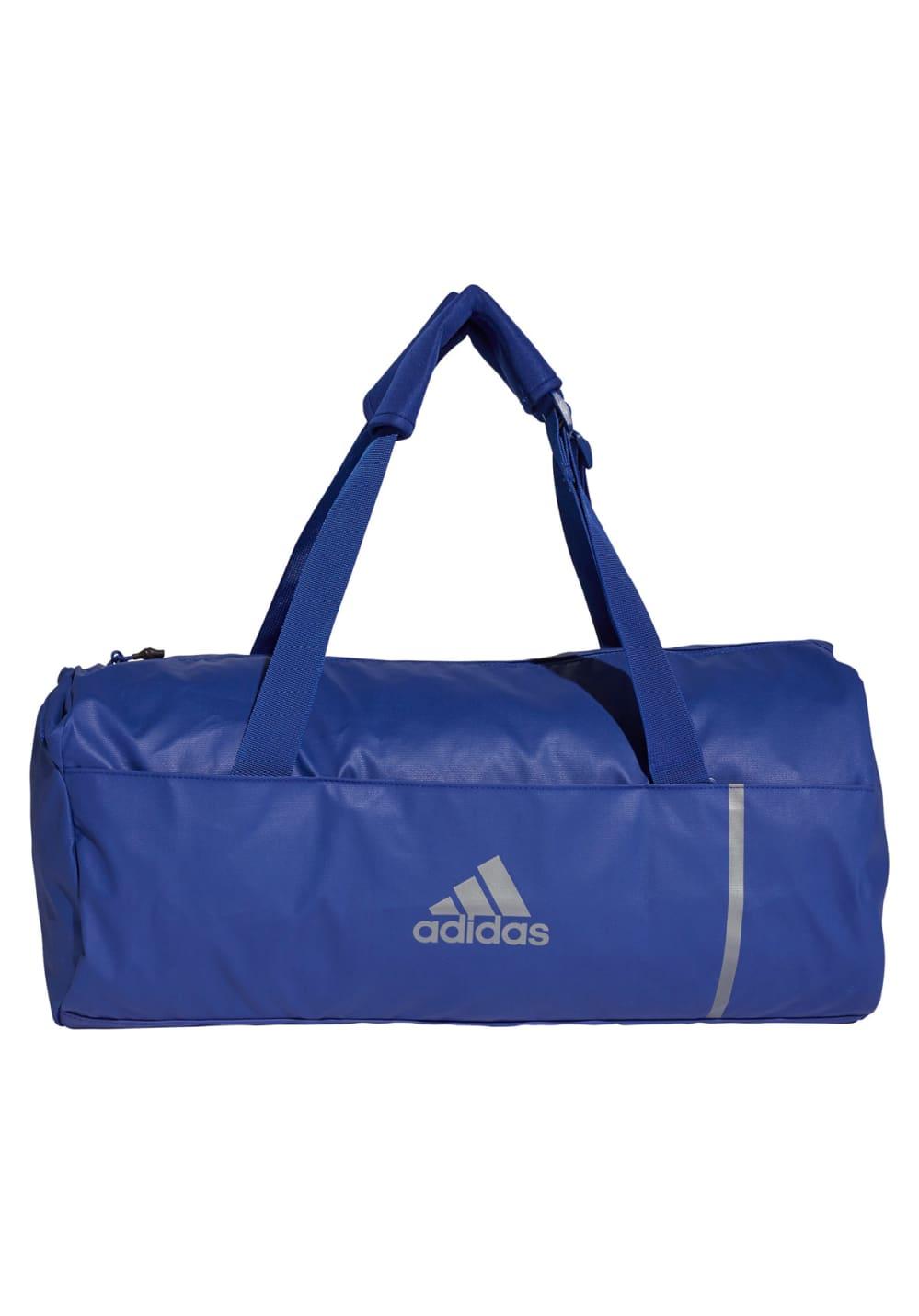 adidas Convertible Training Duffel Bag Medium Sporttaschen - Blau, Gr. M