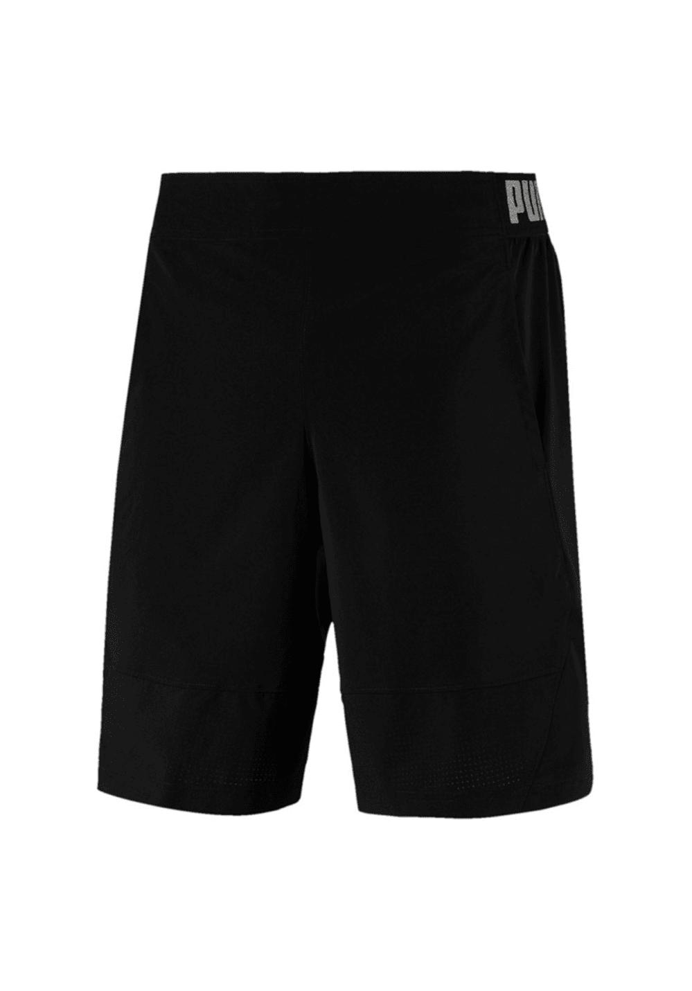 Puma Vent Stretch Wvn Short - Fitnesshosen für Herren - Schwarz, Gr. L