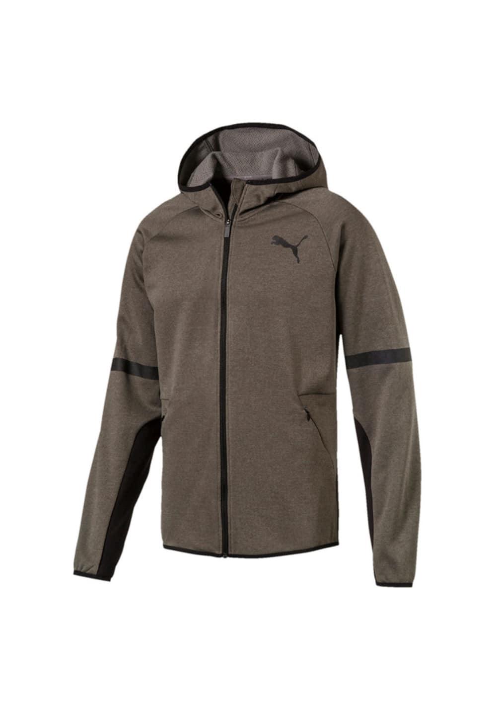 Puma Bnd Tech Jacket - Laufjacken für Herren - Grau, Gr. S