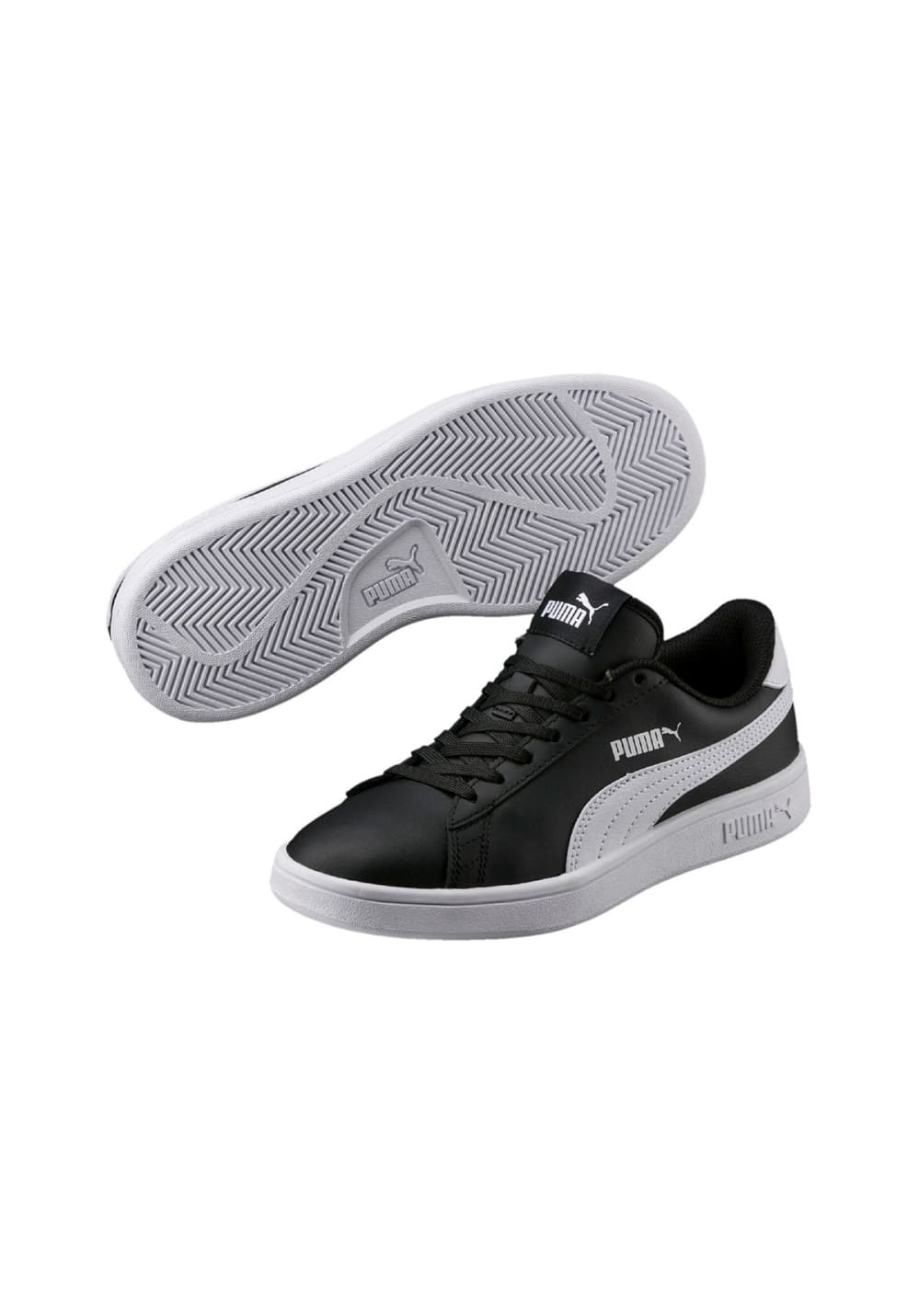 L Noir Jr Baskets Puma V2 Smash vmnOw80N