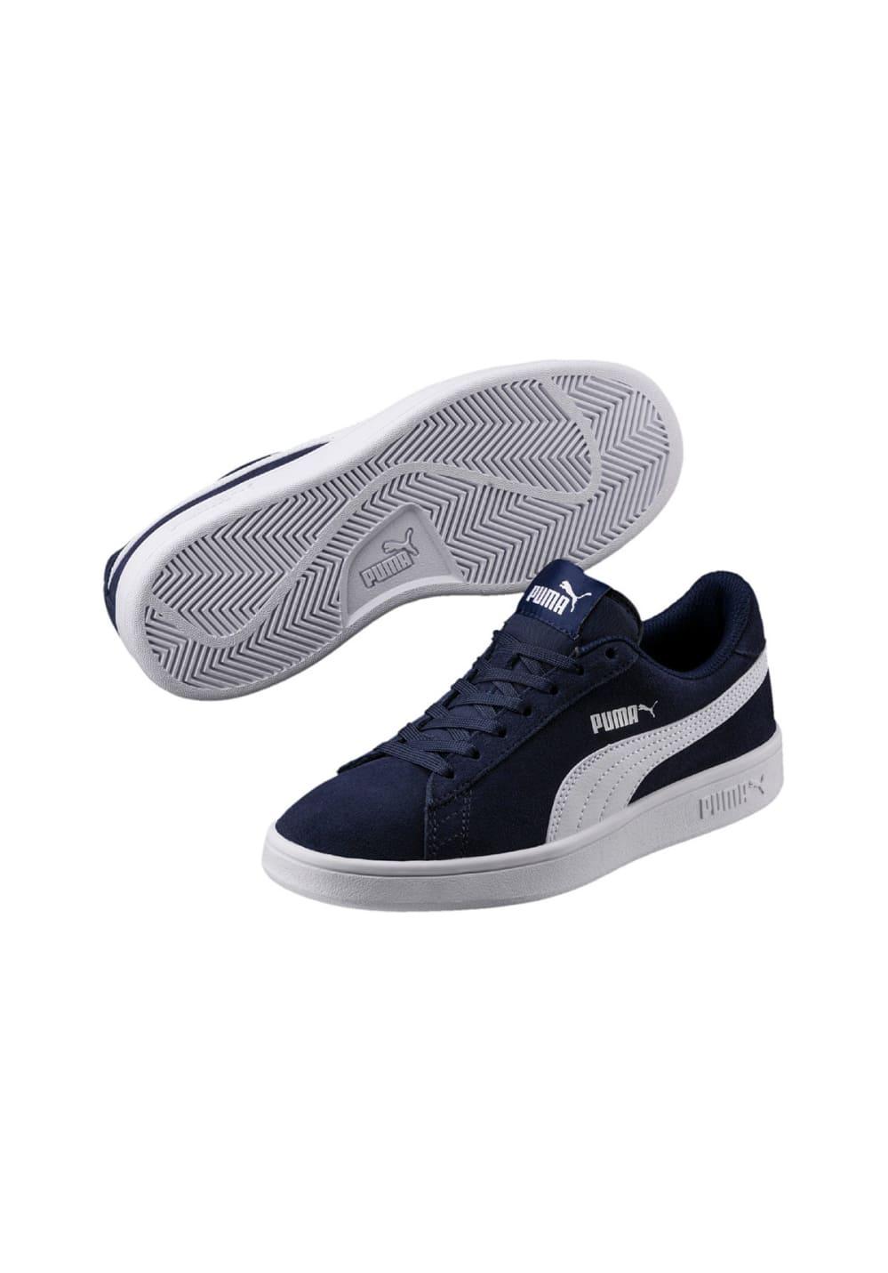 Puma Smash V2 Sd Jr - Sneaker für Kinder Unisex - Grau