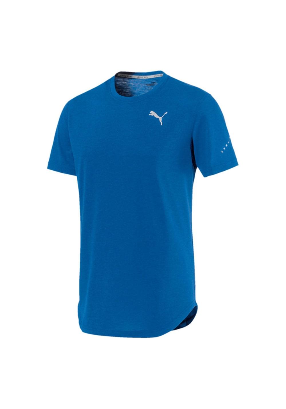Puma Triblend Tee - Laufshirts für Herren - Blau, Gr. XL