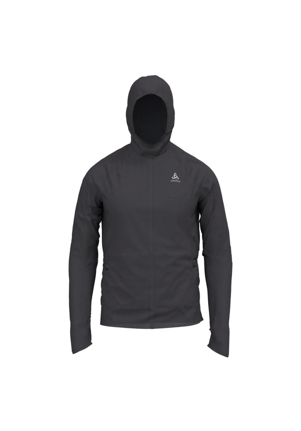 Odlo Hoody Midlayer Full Zip Blaze Zw - Sweatshirts & Hoodies für Herren - Grau