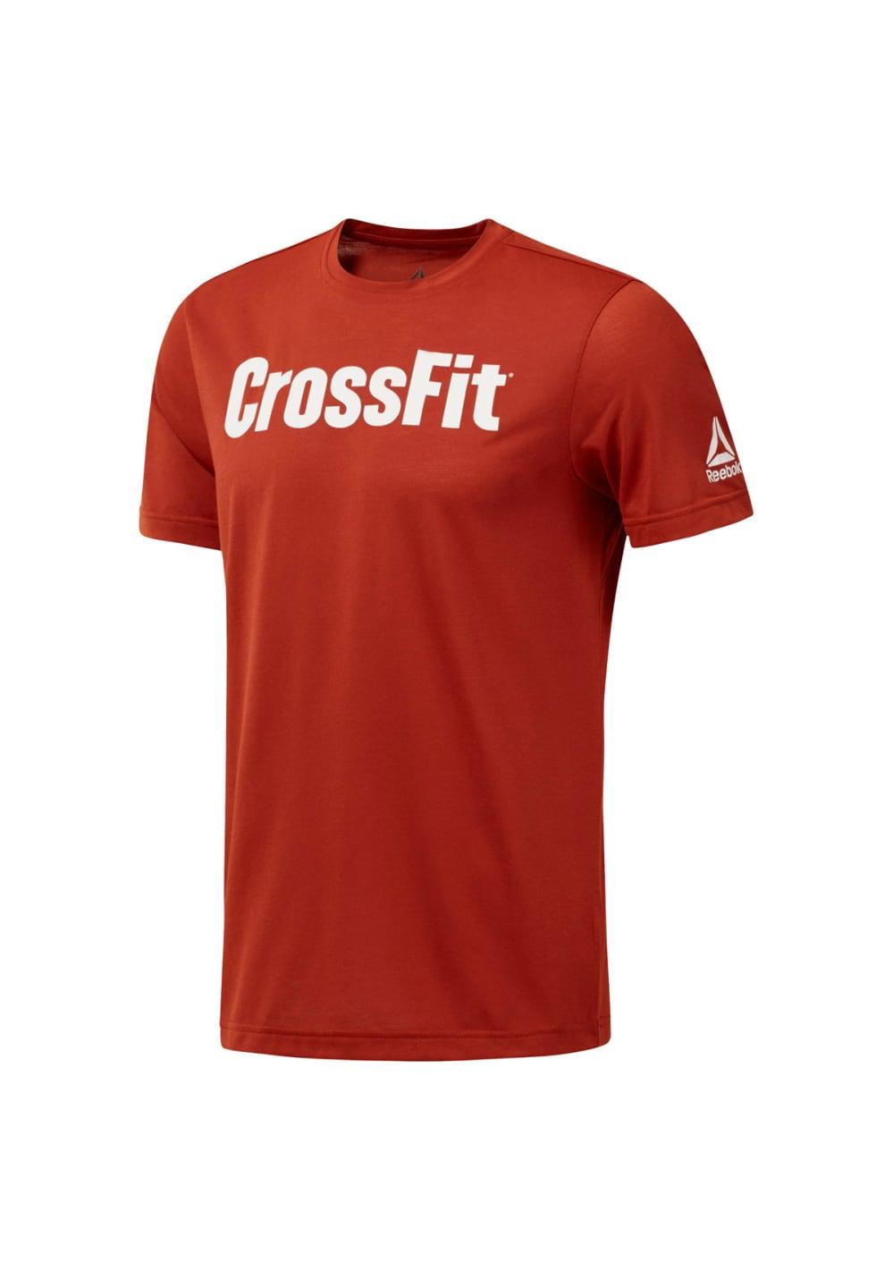 Reebok RCF Forging Elite Fitness Tee - Laufshirts für Herren - Rot, Gr. M
