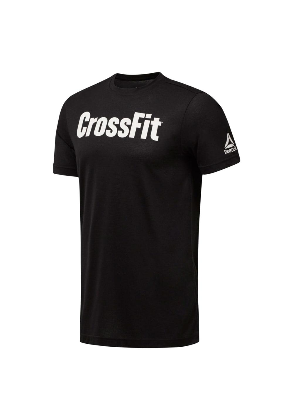 Reebok Crossfit Speedwick F.e.f. Graphic Tee - Fitnessshirts für Herren - Schwa