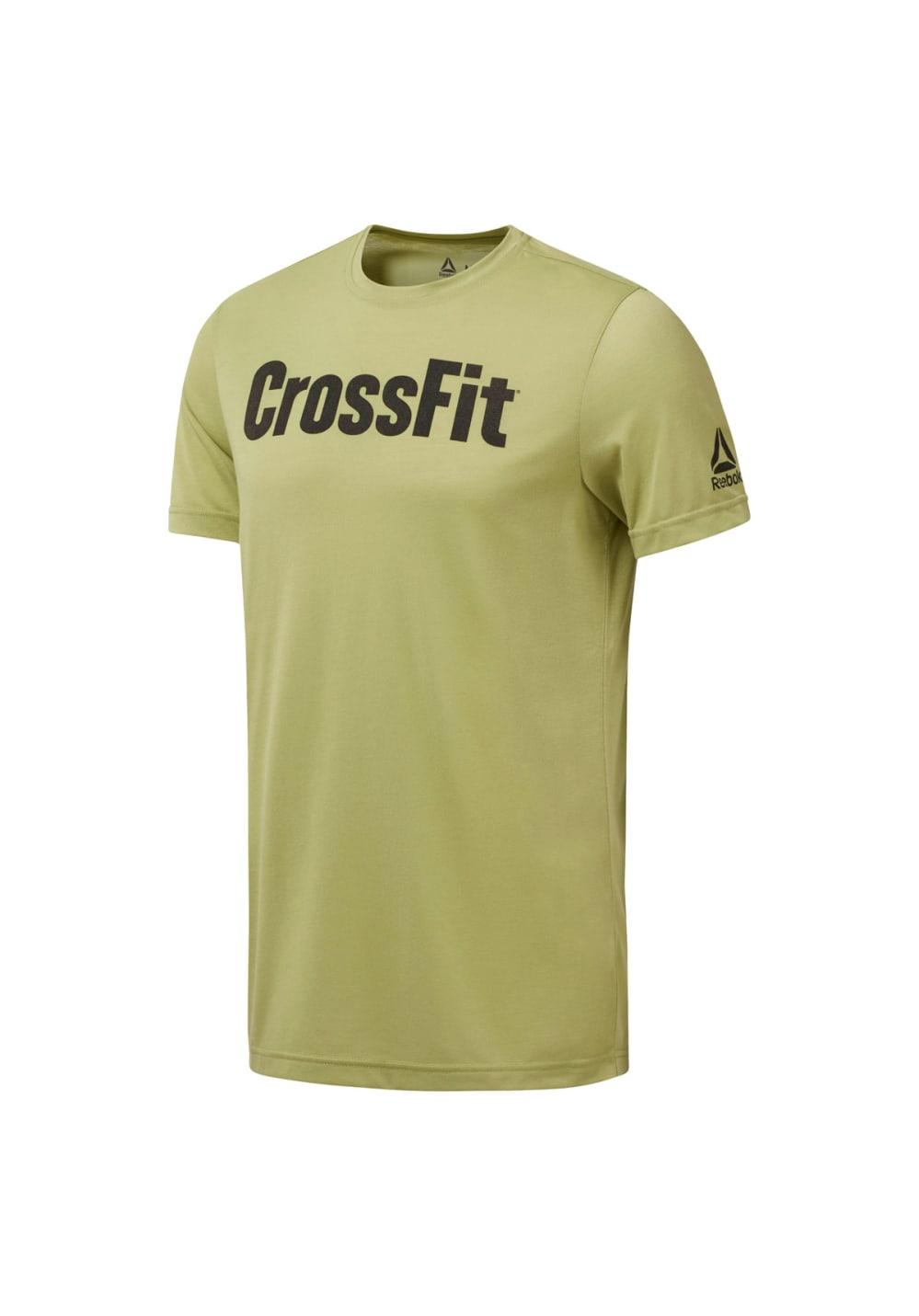 Reebok Crossfit Speedwick F.e.f. Graphic Tee - Fitnessshirts für Herren - Grün