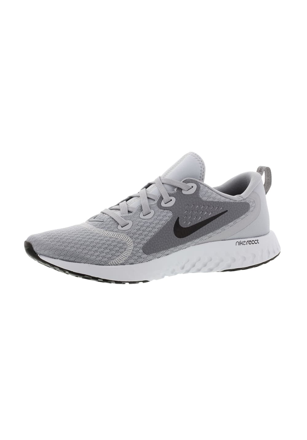 best website d2ee9 0060f Gris 21run Femme React Running Nike Pour Chaussures Legend z