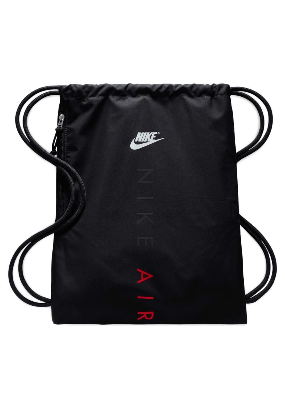 3eeca68200c43 Nike Heritage Gym Sack 2 - Gfx Sporttaschen - Schwarz