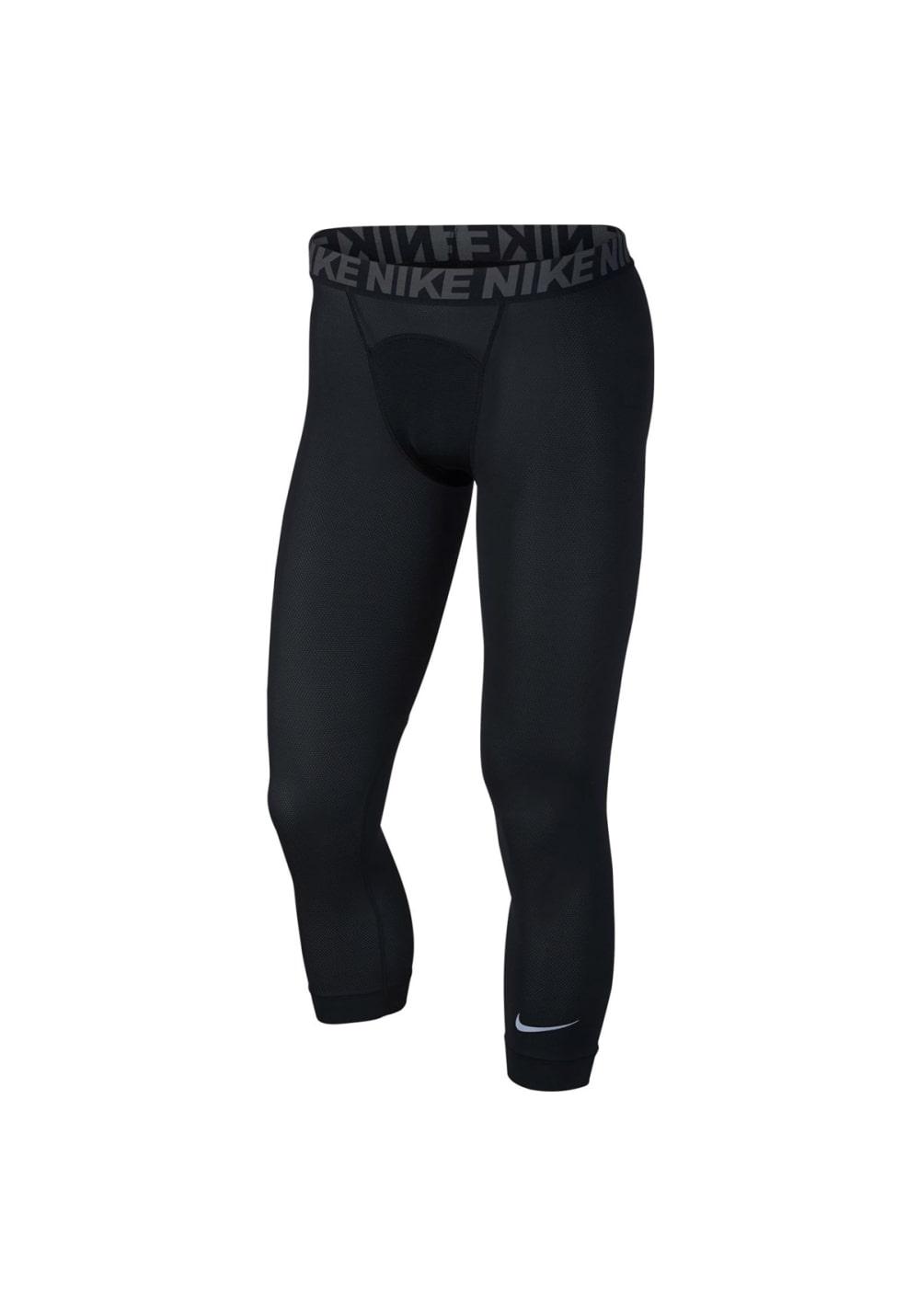 3qt Utility Nike Tight Fitness Homme Pour Noir Pantalons Yv6b7Ifmgy