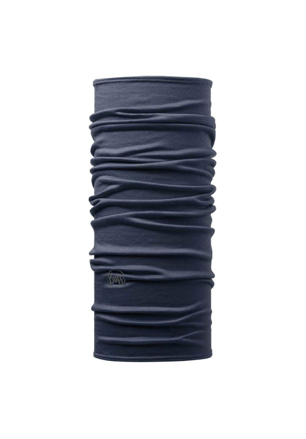 Buff Lightweight Merino Wool Solid Kopfbedeckung - Schwarz, Gr. One Size