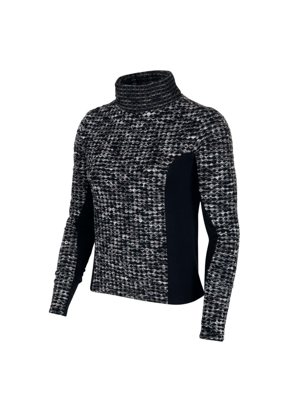 Sportmode für Frauen - Nike Pro Hyperwarm Longsleeve Laufshirts für Damen Schwarz  - Onlineshop 21Run