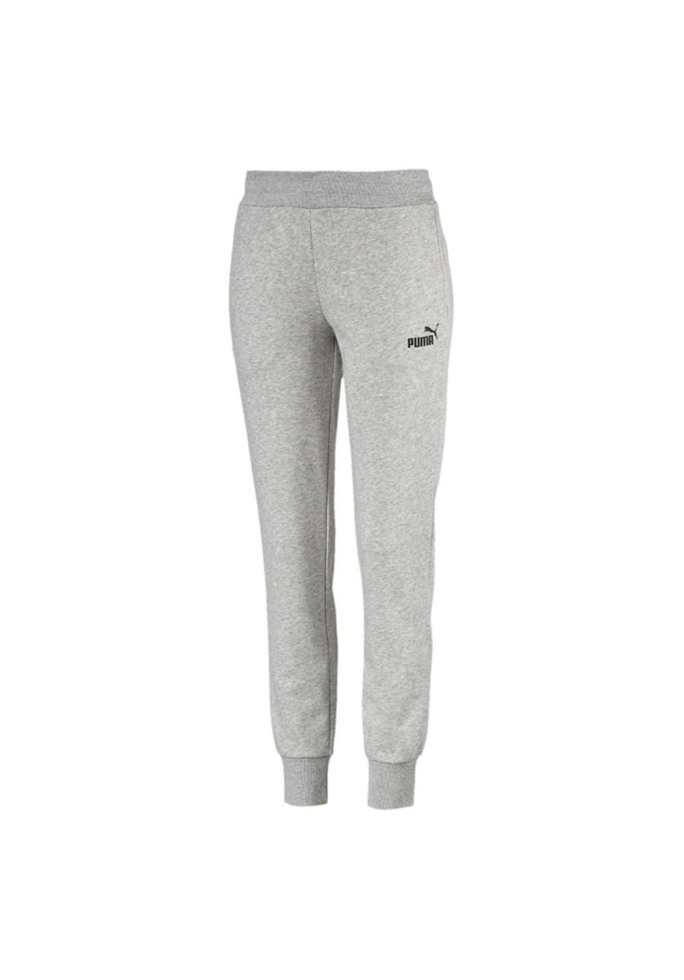 Sportmode für Frauen - Puma Essential Sweat Pants TR cl Fitnesshosen für Damen Grau  - Onlineshop 21Run