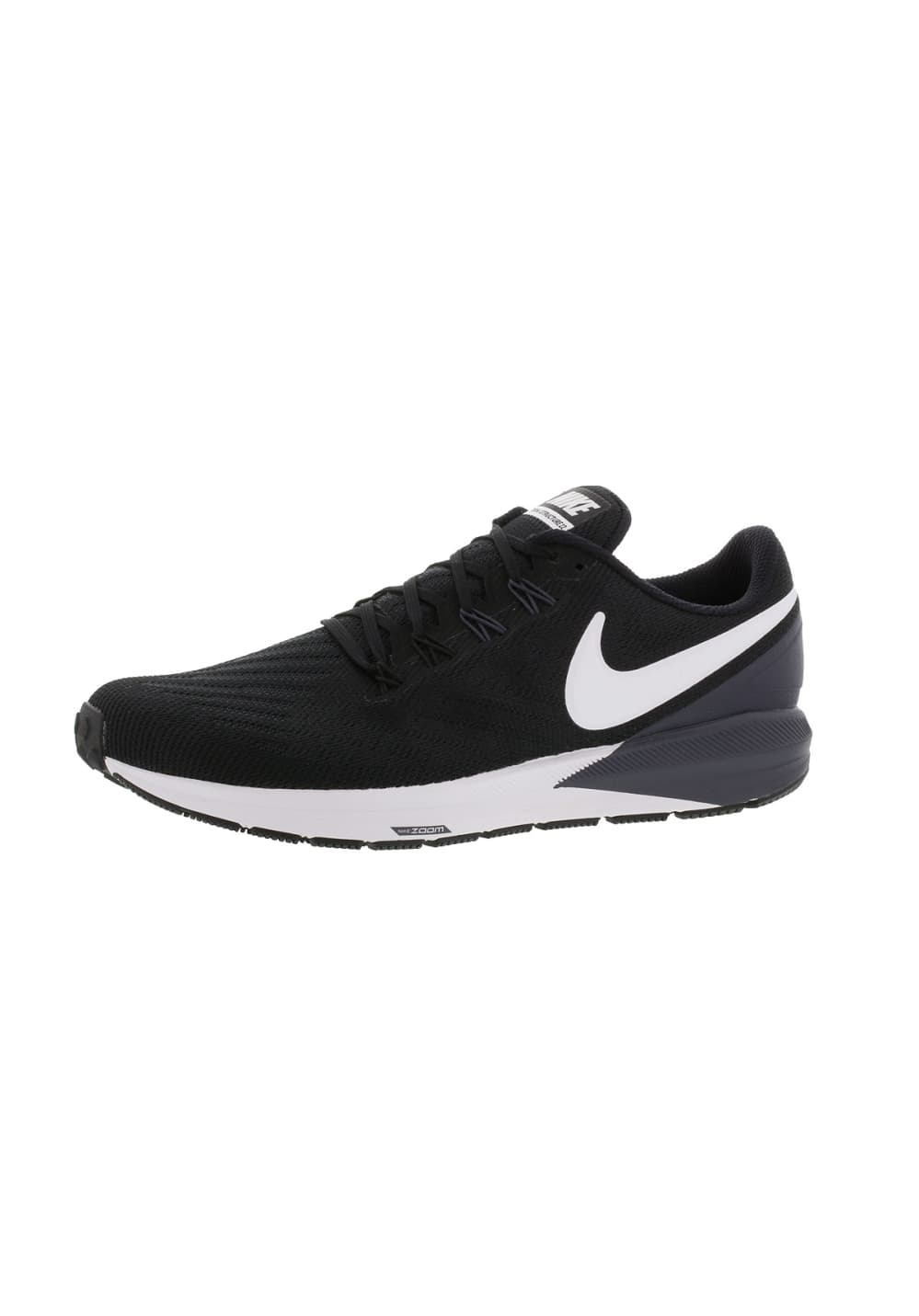 Noir 22 Femme Structure Zoom Air Chaussures Running Nike Pour 29EDIWHY
