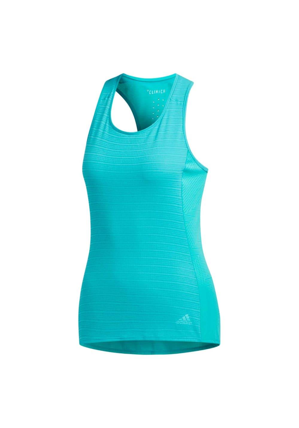 Sportmode für Frauen - adidas Supernova 37c Tank Top Laufshirts für Damen Blau  - Onlineshop 21Run