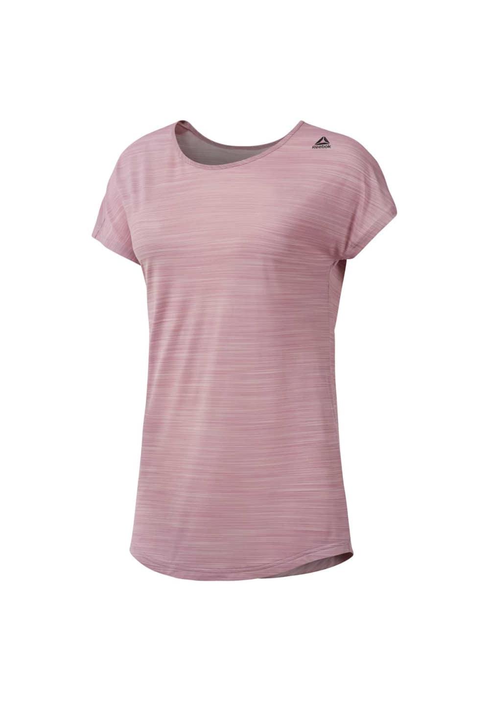 Reebok Work Out Activchill Tee - Fitnessshirts für Damen - Pink, Gr. XL
