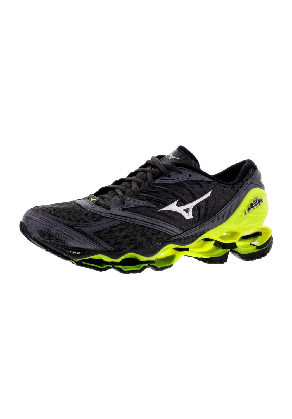 Mizuno Homme Chaussures Prophecy 8 Pour Wave Running Gris 9WEYeD2HIb