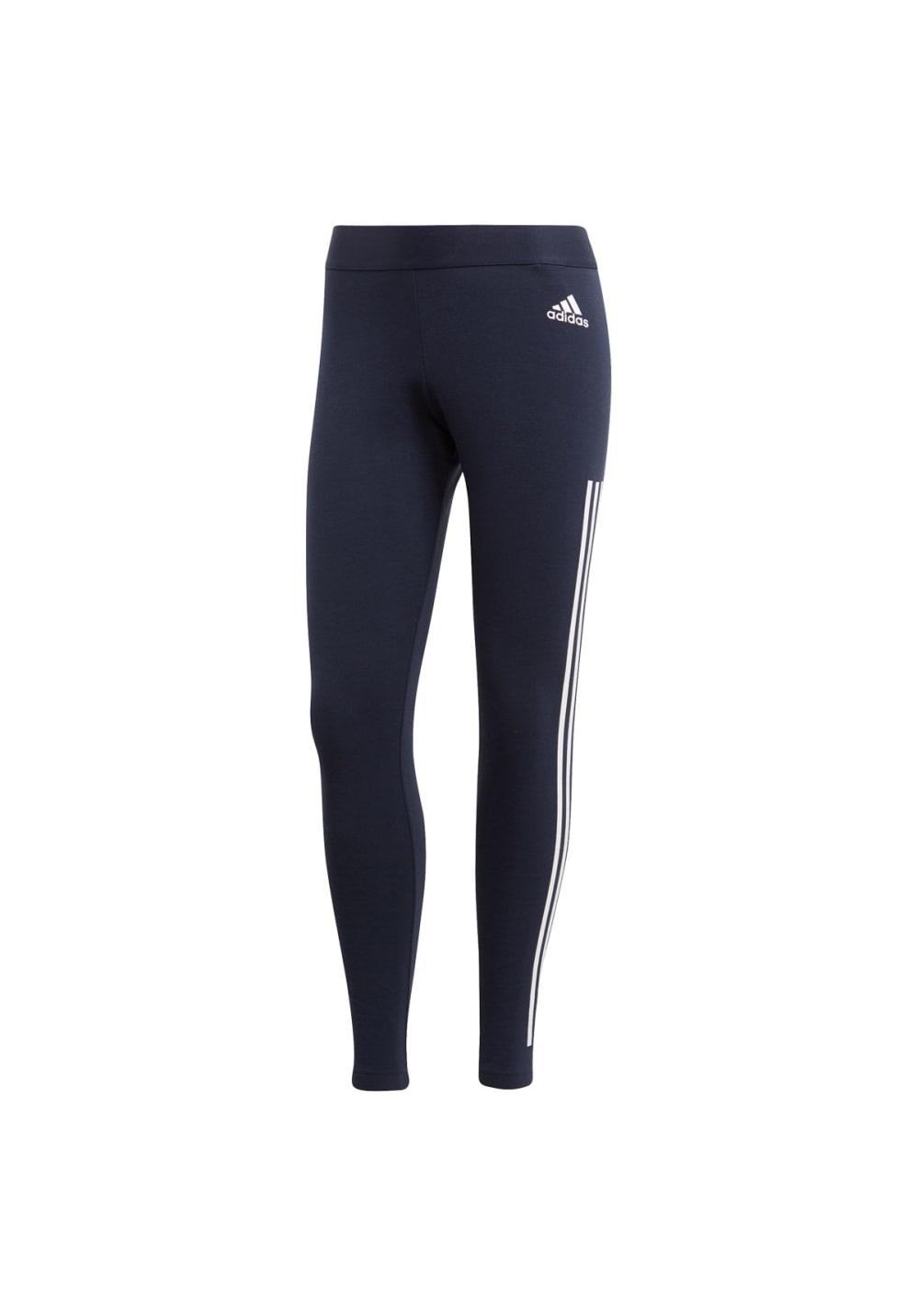 Sportmode für Frauen - adidas Must Haves 3 Stripes Tight Fitnesshosen für Damen Schwarz  - Onlineshop 21Run