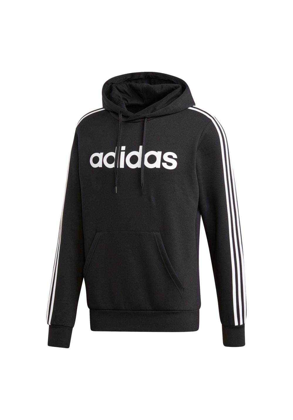 Hoodie For Adidas 3 Sweatshirts Hoodies Men Black Pullover Stripes Essentials OlwPTkZXiu