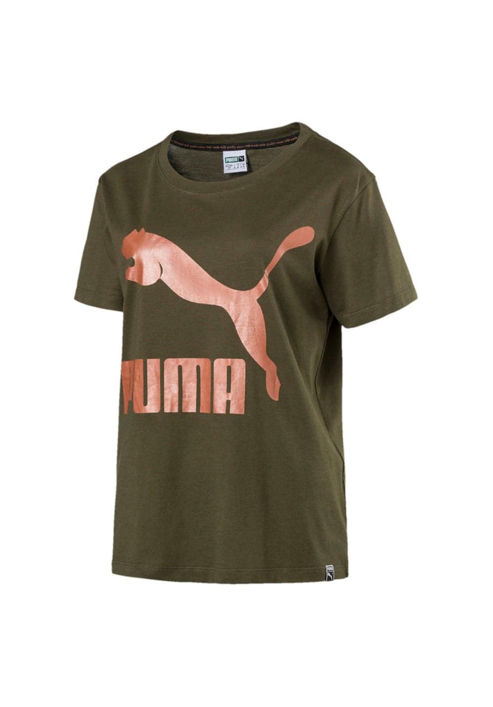PUMA Archive Logo Tee Laufshirts Damen L