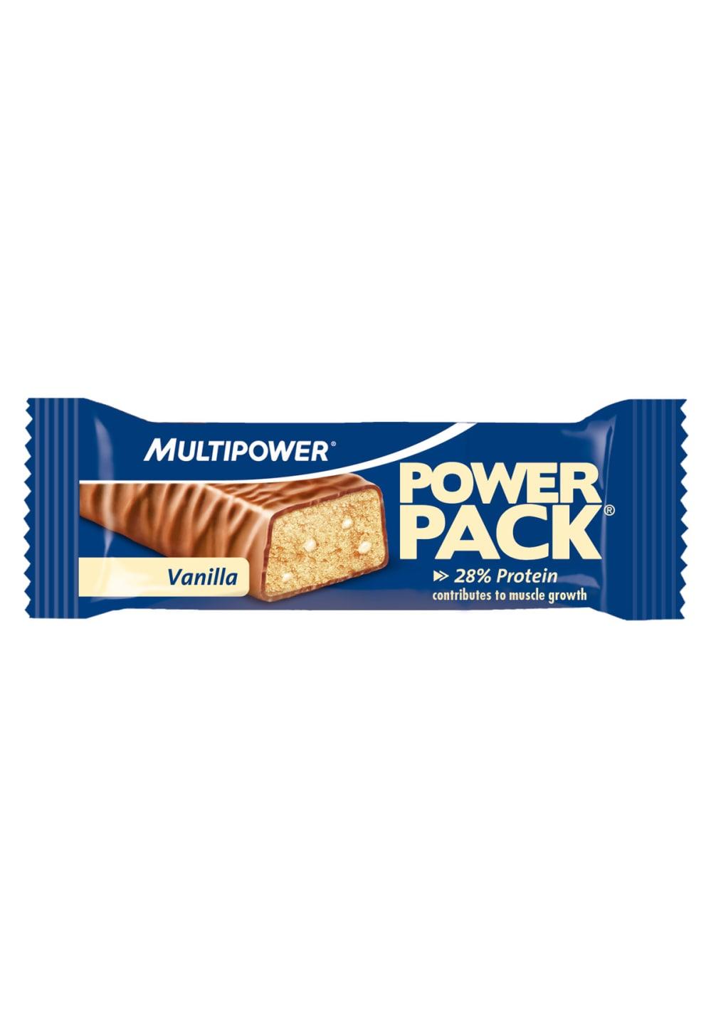 Multipower Power Pack Vanille 35g Sporternährung - Blau