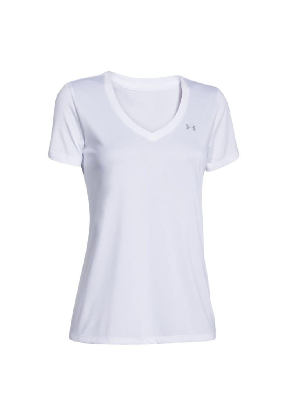 Under Armour Tech Short Sleeve - Solid - Laufshirts für Damen - Grau