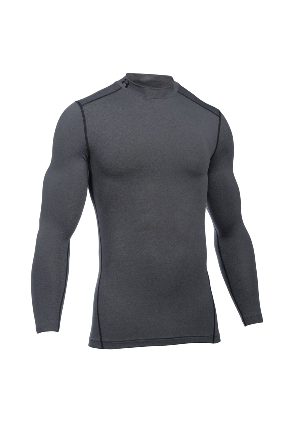 Under Armour ColdGear Armour Mock - Kompression für Herren - Schwarz