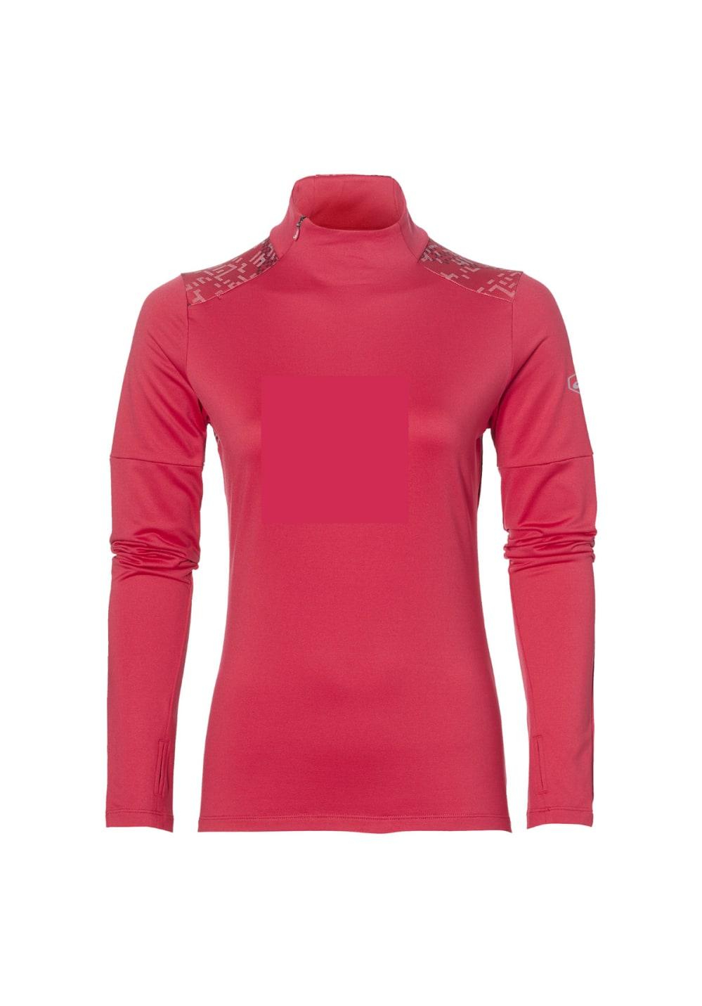ASICS Lite-Show Winter Long Sleeve - Laufshirts für Damen - Rot