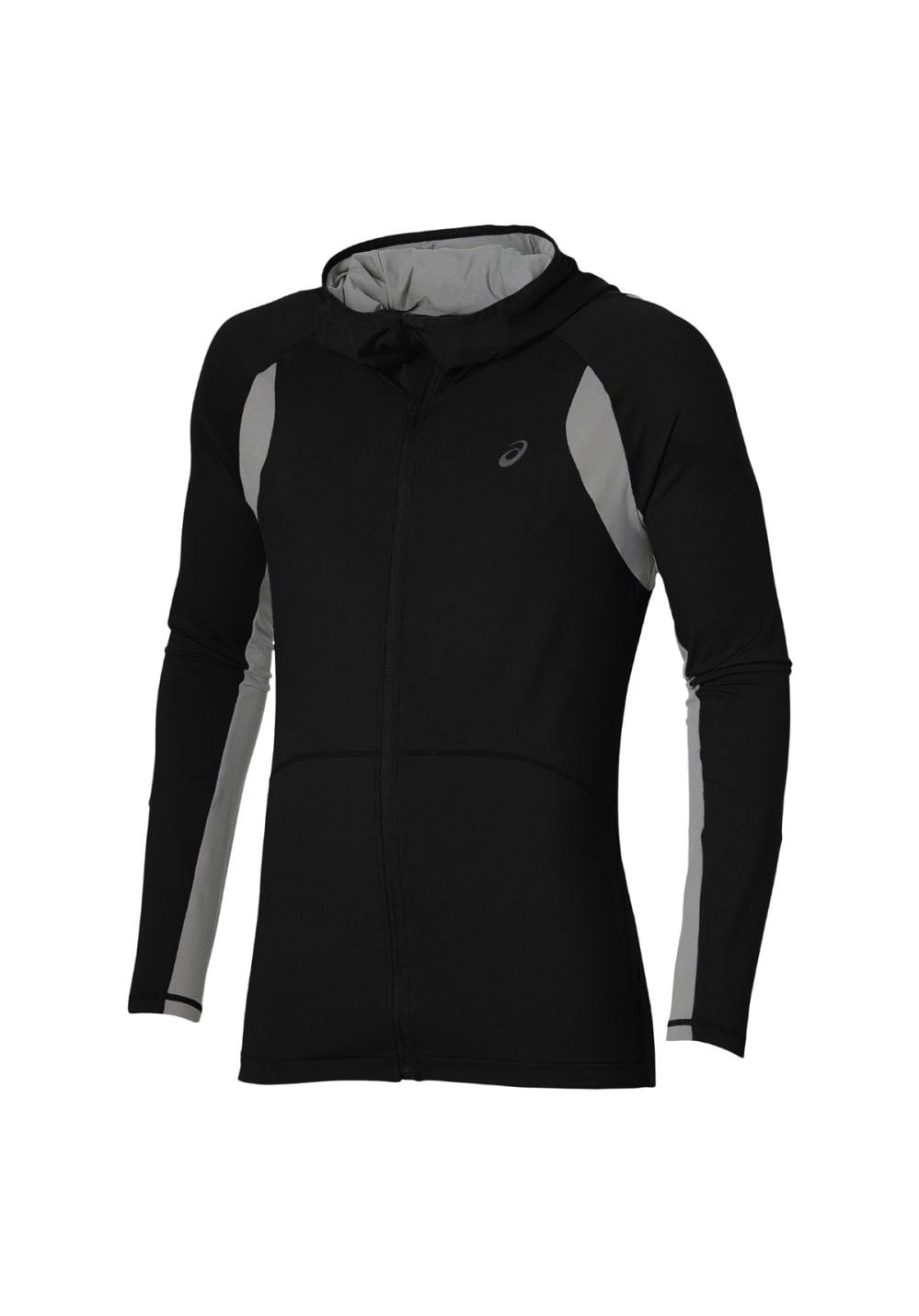 ASICS Tech Fz Hoodie - Sweatshirts & Hoodies für Herren - Schwarz, Gr. XXL