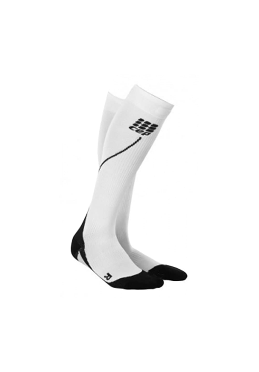 CEP Pro+ Run Socks 2.0 - Laufsocken für Damen - Weiß, Gr. S (II)