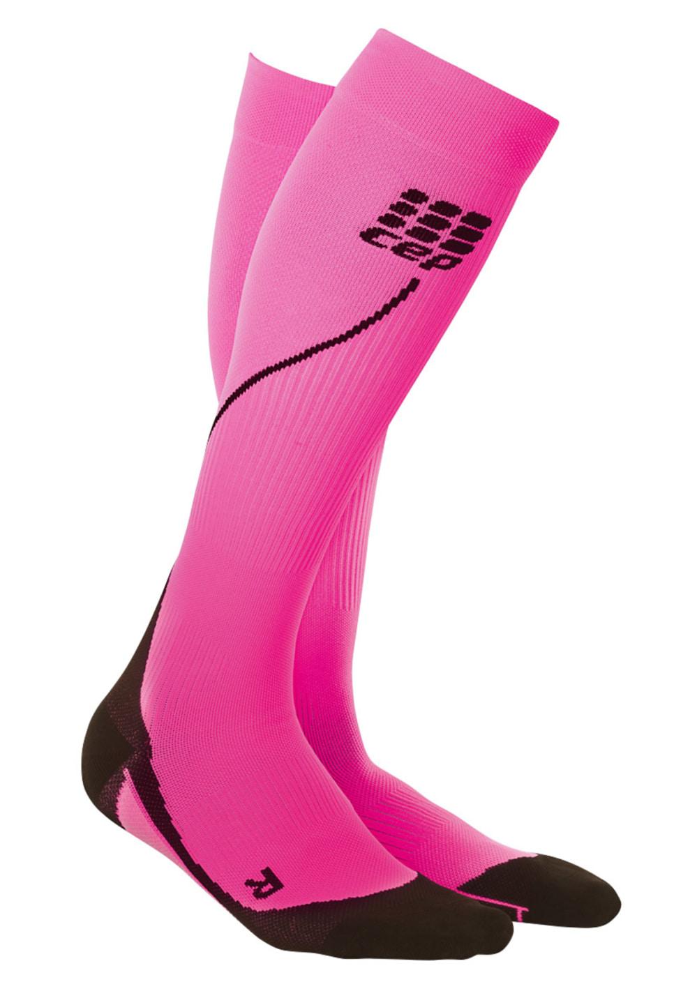 CEP Pro+ Run Socks 2.0 - Kompression für Damen - Pink