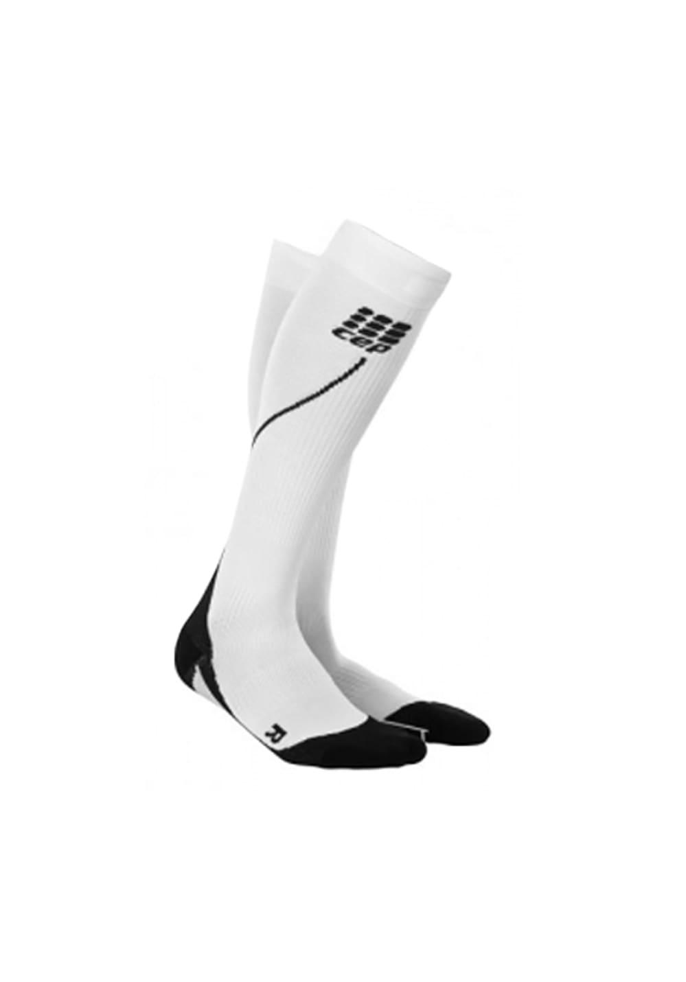CEP Pro+ Run Socks 2.0 - Laufsocken für Herren - Weiß