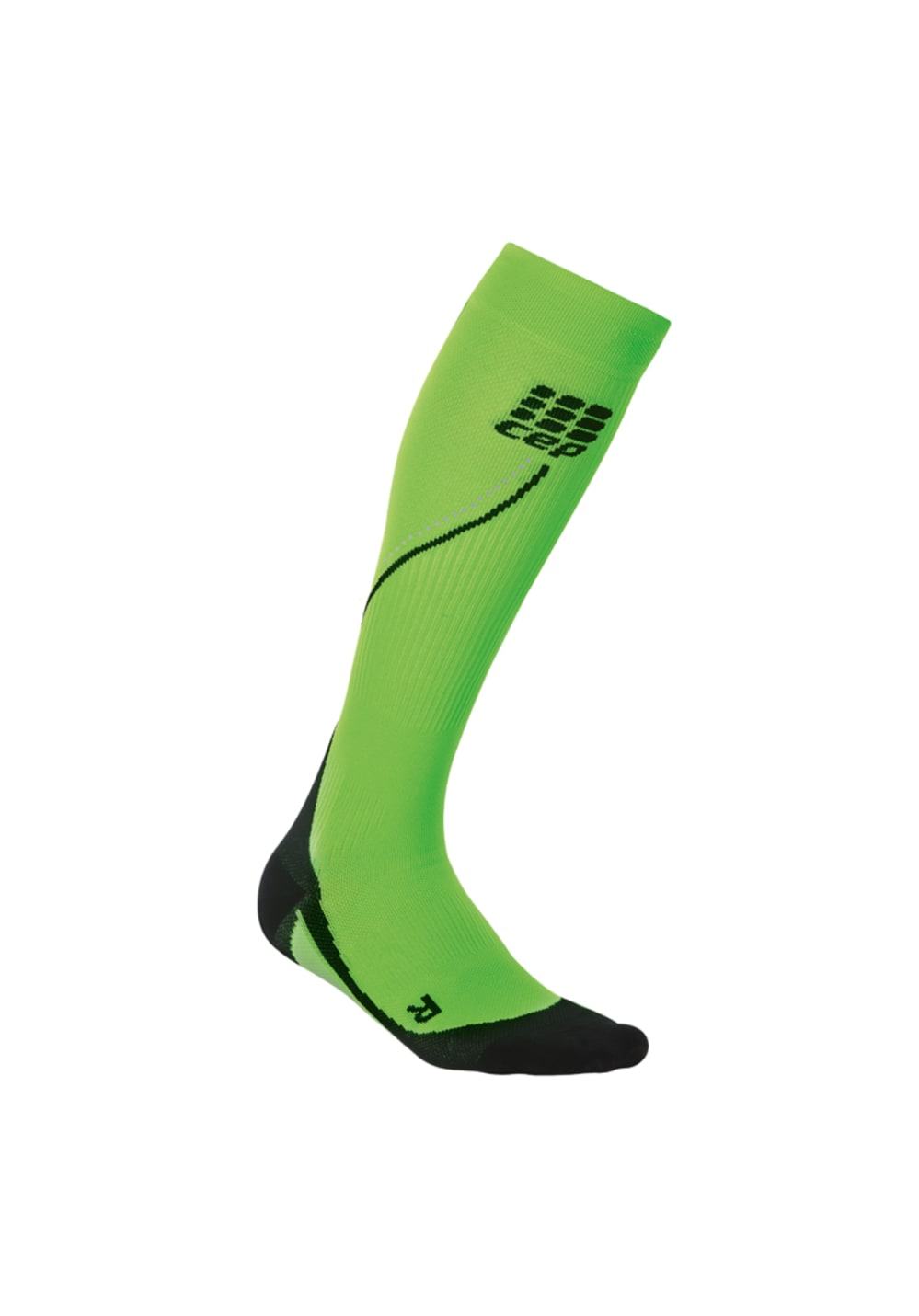 CEP Pro+ Night Run Socks 2.0 - Kompression für Damen - Grün