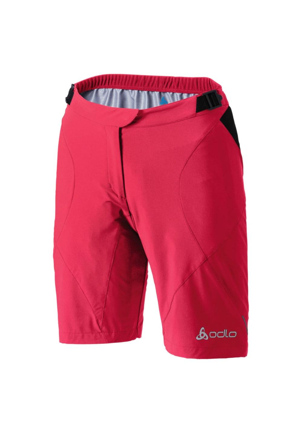 Odlo Shorts Flo - Triathlon für Damen - Rot