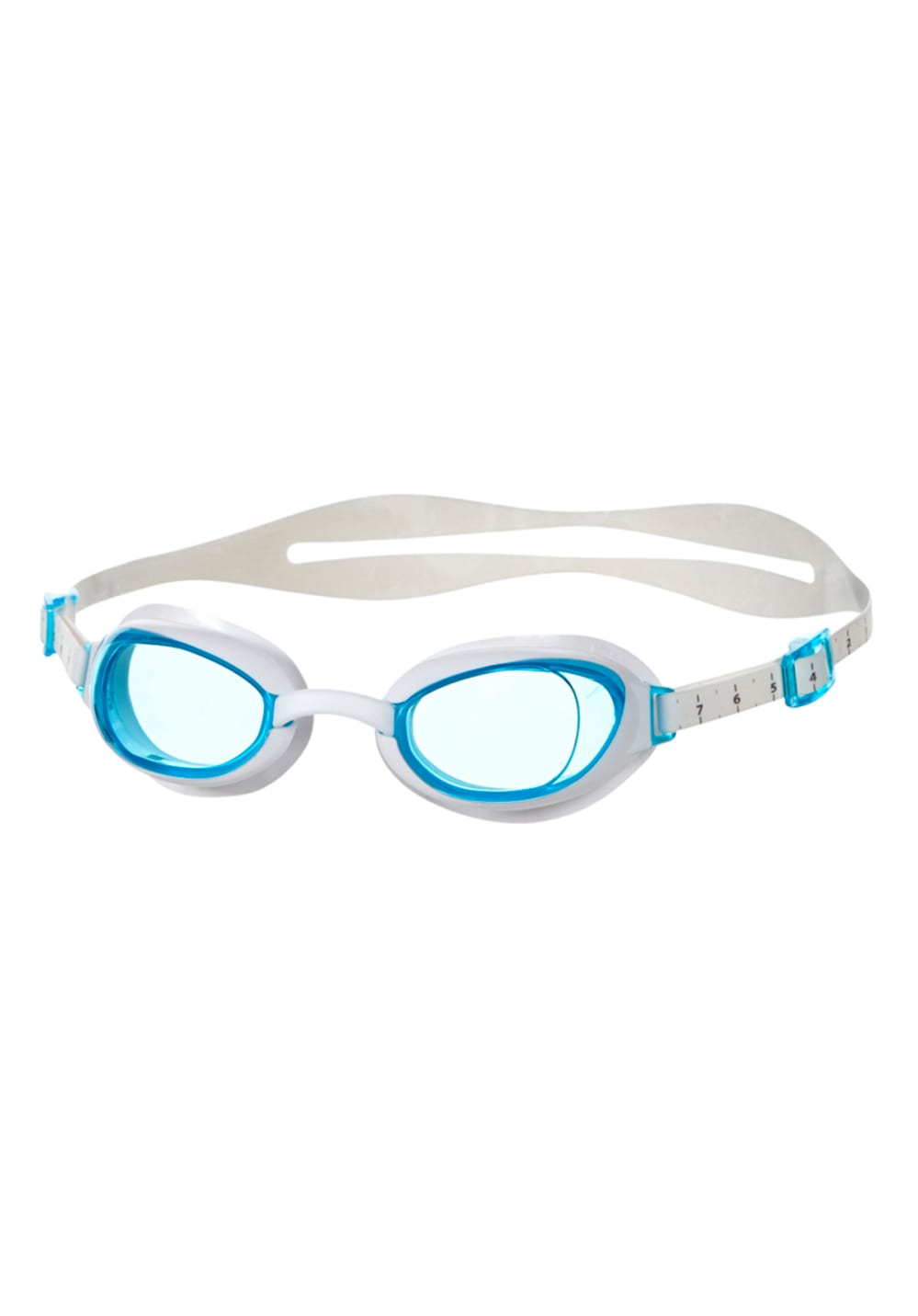 Speedo Aquapure Goggles - Schwimmen für Damen - Grau, Gr. One Size
