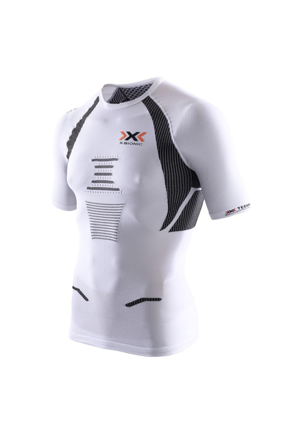 X-Bionic Running The Trick Shirt Short Sleeves - Laufshirts für Herren - Weiß,