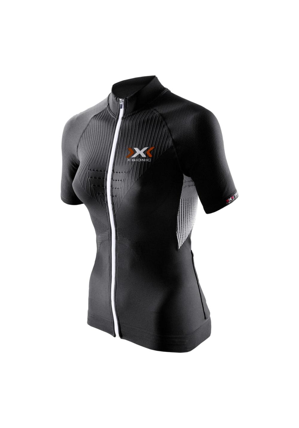 X-Bionic Biking The Trick Shirt Short SleevesFull Zip - Radtrikots für Damen -
