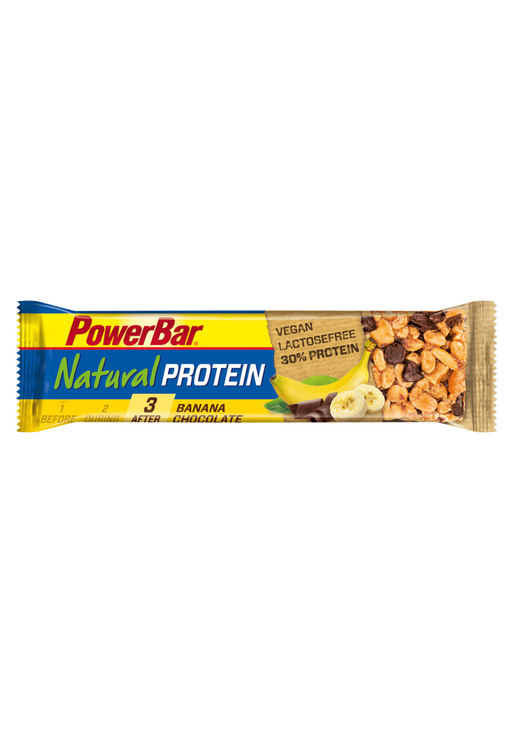 PowerBar Natural Protein Vegan Banana Choco 40g...