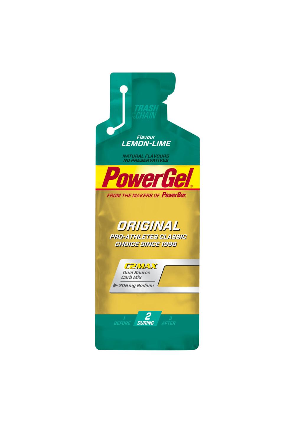 PowerBar Gel Lemon-Lime 41g Sporternährung - Grün