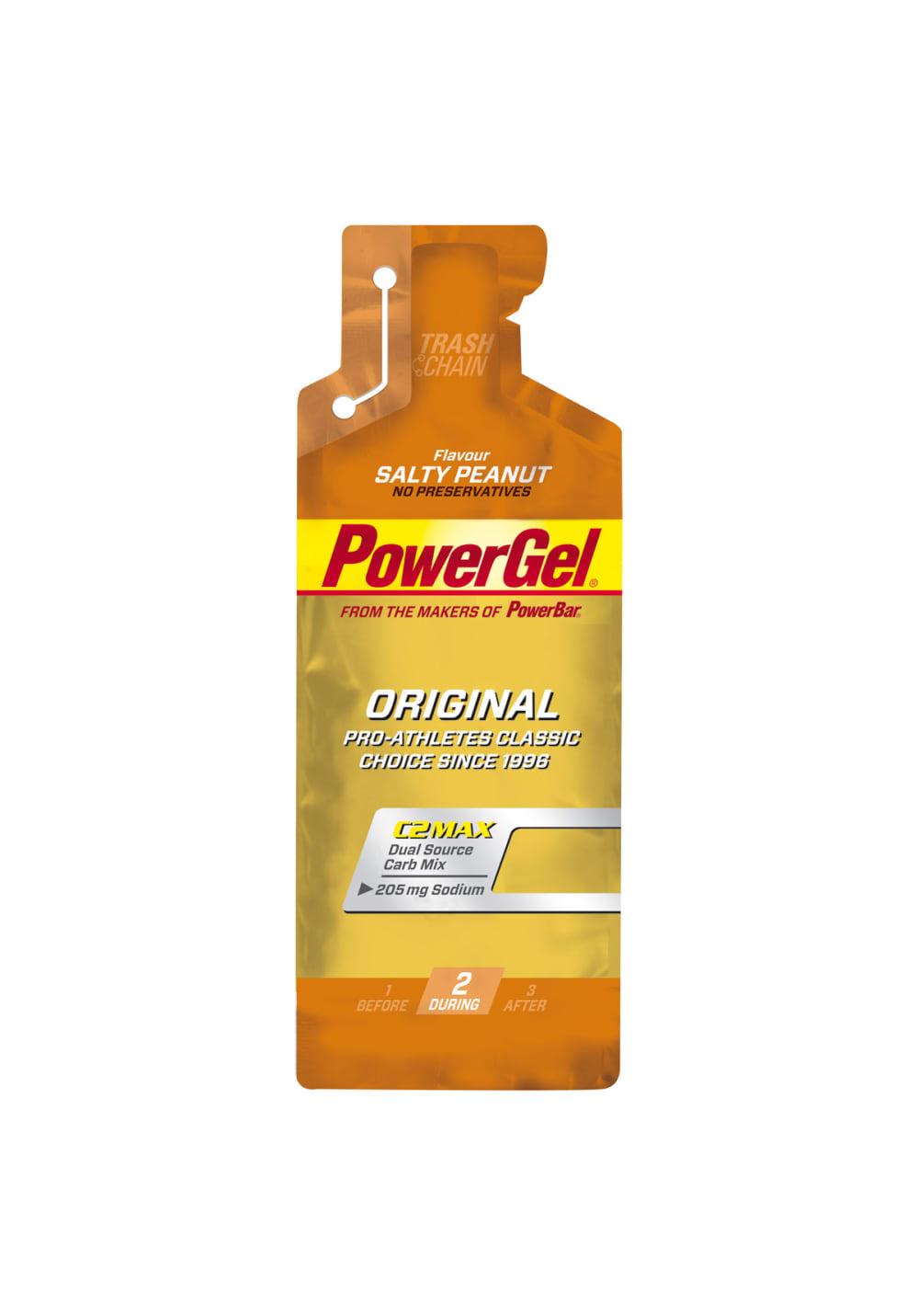 PowerBar Gel Salty Peanut 41g Sporternährung - Orange