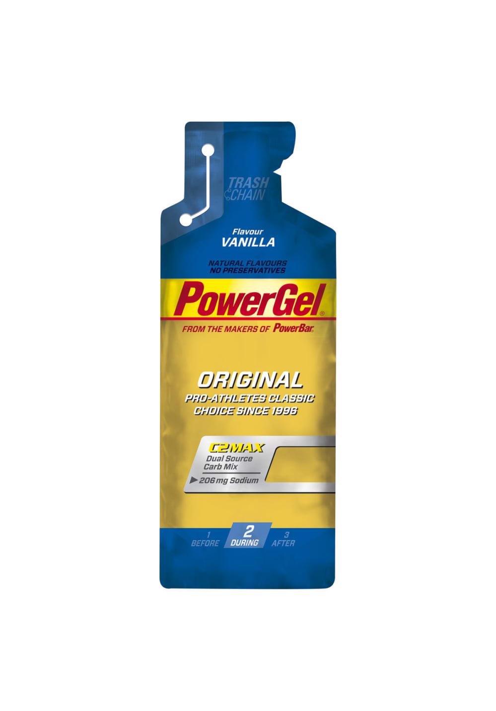 PowerBar Gel Vanilla 41g Sporternährung - Blau