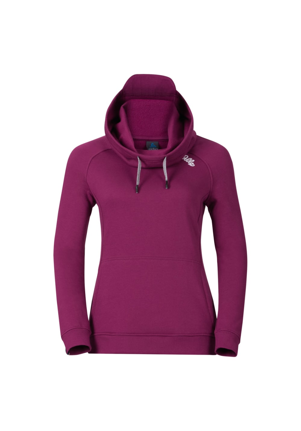 Odlo Hoody Midlayer Spot-On Cowl - Sweatshirts & Hoodies für Damen - Lila, Gr.